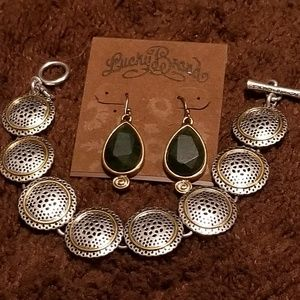 Lucky brand  jewelry.  New. Never been worn.